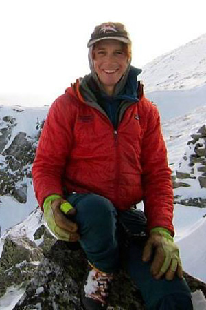 Nick Aiello-Popeo - New Hampshire climbing, skiing, and mountaineering guide.