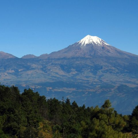 Pico de Orizaba in Mexico is the third highest mountain in all of North America.