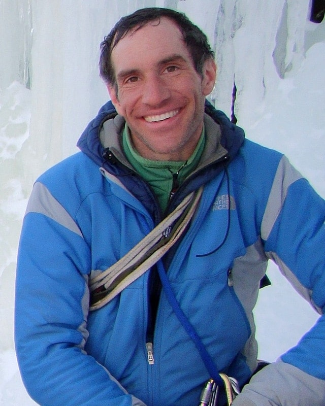 Scott Lee - New Hampshire climbing, skiing, and mountaineering guide.